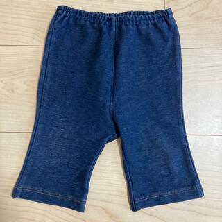 ダブルビー(DOUBLE.B)のダブルビー デニムパンツ 70-80 ポケット付き(パンツ)