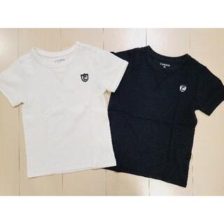 西松屋 - 半袖 Tシャツ 120 白黒