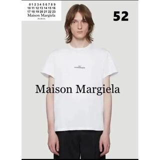 マルタンマルジェラ(Maison Martin Margiela)の【新品】MAISON MARGIELA マルジェラ 反転ロゴ刺繍 Tシャツ XL(Tシャツ/カットソー(半袖/袖なし))