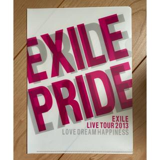 エグザイル(EXILE)のEXILE A5クリアファイル(ミュージシャン)