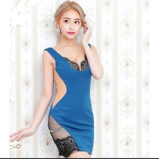 エンジェルアール(AngelR)の【✨美品✨】AngelR ドレス キャバ嬢(ミディアムドレス)