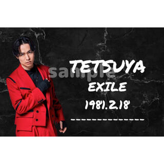 エグザイル(EXILE)のTETSUYA ネームボード(ミュージシャン)