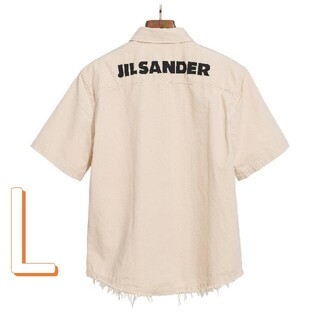 Jil Sander - 【L】JIL SANDER シャツの半袖