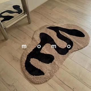 モダン♡カフェ風♡ラグ♡北欧♡韓国♡マット♡ナチュラル♡モノトーン♡お洒落♡小物