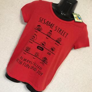 セサミストリート(SESAME STREET)の【新品 タグ付】セサミストリート ビッグシルエット ビッグロゴ Tシャツ M(Tシャツ(半袖/袖なし))