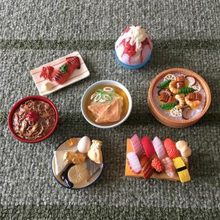 ミニチュア食品サンプル  和食set