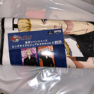 BANPRESTO - 東京リベンジャーズ 東リベ ビジュアル タオル 集合柄