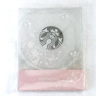 スターバックスコーヒー(Starbucks Coffee)のスターバックス*さくら*コースター*2017*韓国*海外*(テーブル用品)