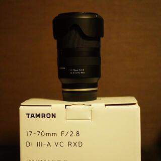 SONY - tamron 17-70 F2.8