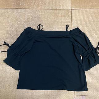 イング(INGNI)のオフショルトップス(カットソー(半袖/袖なし))