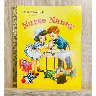 英語絵本 リトルゴールデンブック クラシック ナースのナンシー(絵本/児童書)