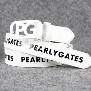 PEARLY GATES - パーリーゲイツ ゴルフレザー ベルト  #011