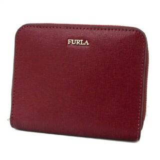 フルラ(Furla)のFURLA 折財布 バビロン レッド 美品 (財布)