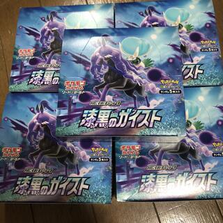 ポケモン(ポケモン)の漆黒のガイスト 5BOX(Box/デッキ/パック)