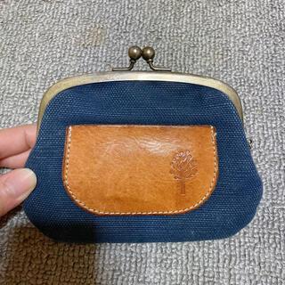 kanmi がま口 キャンバス(財布)