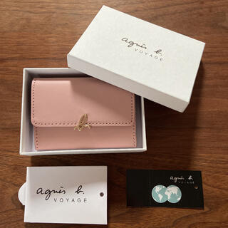 agnes b. - 【新品】アニエスベー カードケース コインケース キーケース ピンク