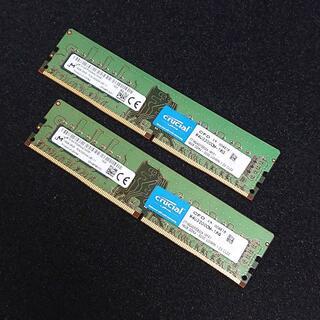 メモリ crucial 32GB (16GBx2) DDR4-3200 #73