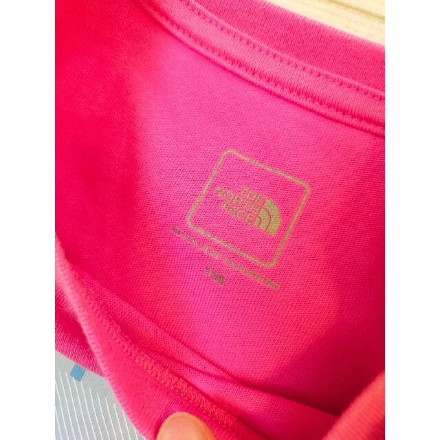 THE NORTH FACE(ザノースフェイス)のNorth Face☆半袖Tシャツ 130センチ 美品 キッズ/ベビー/マタニティのキッズ服女の子用(90cm~)(Tシャツ/カットソー)の商品写真