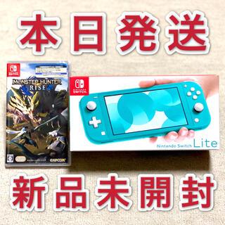 Nintendo Switch - スイッチライト 本体 Switch モンスターハンター ライズ ソフト