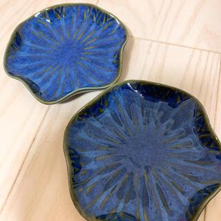 ジェンガラ(Jenggala)のジェンガラケラミック リーフ小皿 2枚セット(食器)