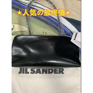 JIL SANDER Black Goji frame medium bag