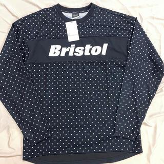 エフシーアールビー(F.C.R.B.)の専用 F.C.Real Bristol L/S TOUR TEE L 黒(Tシャツ/カットソー(七分/長袖))