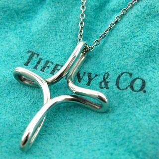 Tiffany & Co. - ティファニー  エルサ・ペレッティ オープンクロス  ネックレス 17-311