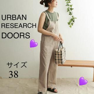 DOORS / URBAN RESEARCH - アーバンリサーチドアーズ コットンデッキサロペット 38
