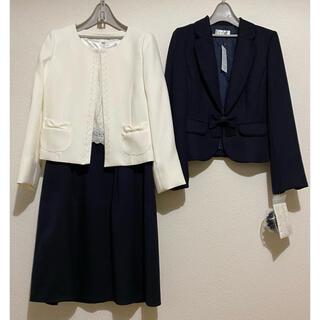 シマムラ(しまむら)の【新品】3セット リボンジャケット テーラードジャケット ワンピース(セット/コーデ)