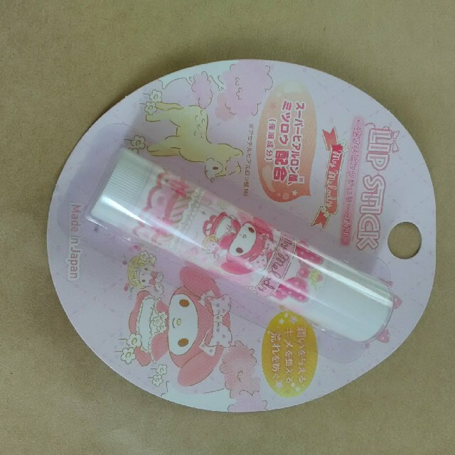 マイメロディ リップスティック コスメ/美容のスキンケア/基礎化粧品(リップケア/リップクリーム)の商品写真