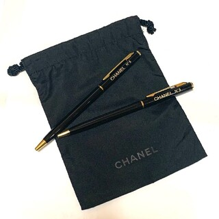 CHANEL - シャネル 巾着ポーチ&ボールペン2本セット ノベルティ