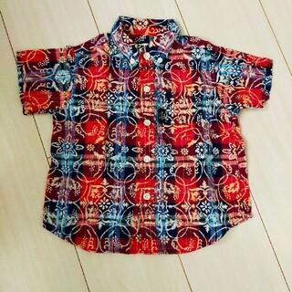 タケオキクチ(TAKEO KIKUCHI)のアロハシャツ タケオキクチ 90(Tシャツ/カットソー)