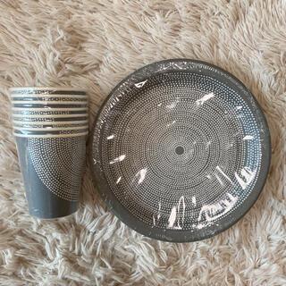 marimekko - マリメッコ 紙コップ・紙皿セット 新品未使用