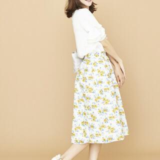 テチチ(Techichi)の花柄スカート♡Techichi(ひざ丈スカート)