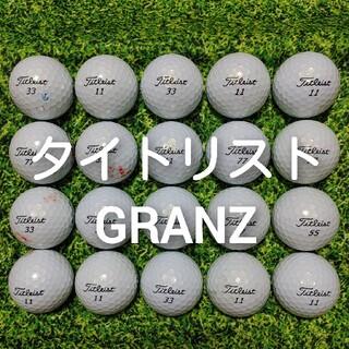 タイトリスト(Titleist)のタイトリスト GRANZ ロストボール ゴルフボール 50(その他)