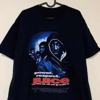 2PAC juice Tシャツ 黒