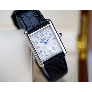 Cartier - 美品 カルティエ マスト タンク シルバー アラビア デイト LM
