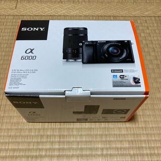 SONY - ソニーミラーレスカメラ ILCE-6000Y