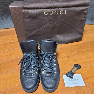 グッチ(Gucci)のGUCCI ハイカットブーツ?スニーカー?(スニーカー)