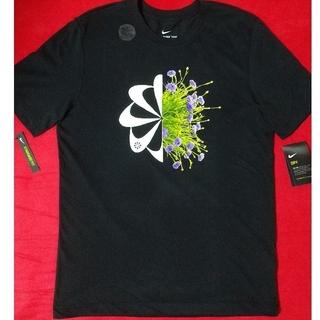 NIKE - NIKE Tシャツ 風車 花柄 フローラル 黒 ブラック M クラシック レア