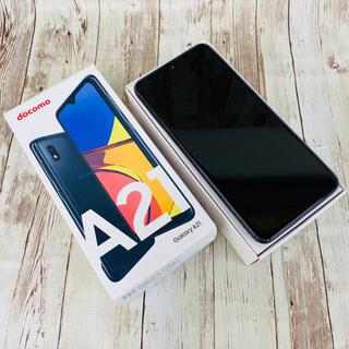 サムスン(SAMSUNG)のGalaxy A21 Simフリー 黒(スマートフォン本体)