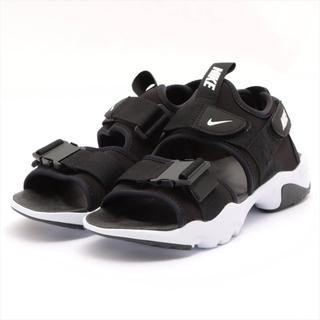 ナイキ(NIKE)のナイキ  ファブリック 23 ブラック レディース その他靴(その他)