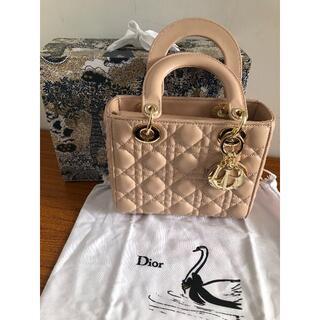 クリスチャンディオール(Christian Dior)のレディディオール ミディアム 2wayバッグ ピンク(ショルダーバッグ)