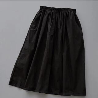 mina perhonen - ミナペルホネン  papier   スカート☆新品 ブラック