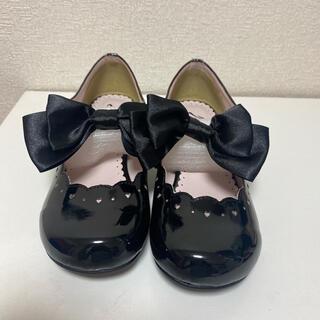 ユメテンボウ(夢展望)のいと様専用 新品 夢展望 シューズ 靴 リボン エナメル 黒 ブラック ロリータ(ハイヒール/パンプス)