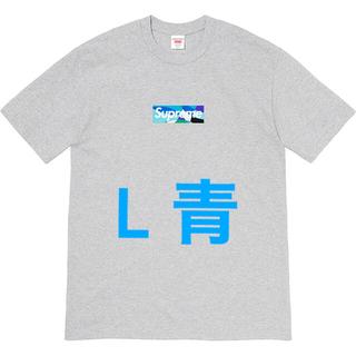 Supreme -  Lグレー青 Supreme Emilio Pucci Box Logo Tee
