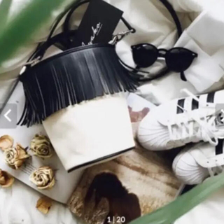 Ayako bag Fringe Bucket Bagアヤコバック フリンジ