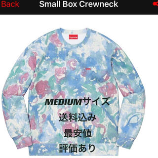 Supreme - 【最安値】supreme small box crewneck water