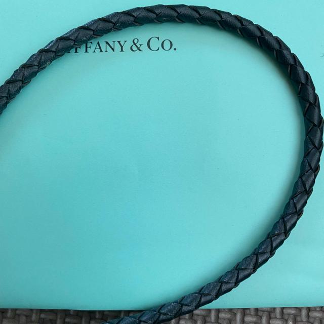 Tiffany & Co.(ティファニー)のTiffany&Co.  ティファニー トグル レザーチョーカー レディースのアクセサリー(ネックレス)の商品写真
