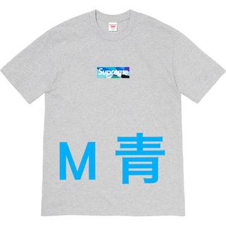 Supreme - Mグレー青 Supreme Emilio Pucci Box Logo Tee
